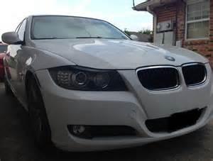 2009 2011 bmw 3 series sedan e90 headlight eyelid pre cut