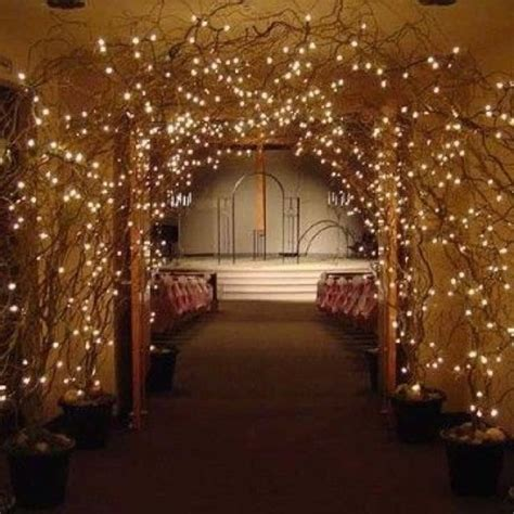 Wedding Arch Made Of Sticks by 1000 Images About Twig Trees Lights On