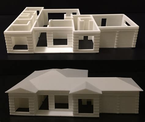 3d model maker house architecture planning and model