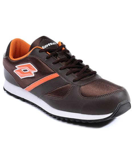 lotto sport shoe lotto brown sport shoe price in india buy lotto brown