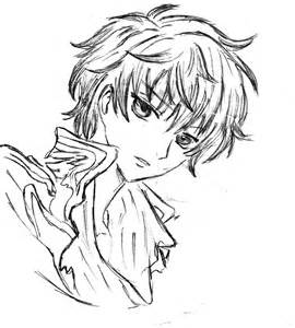anime and boy coloring pages coloring pages bestofcoloring