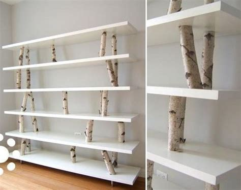 unique shelving 12 unique diy projects featuring birch wood