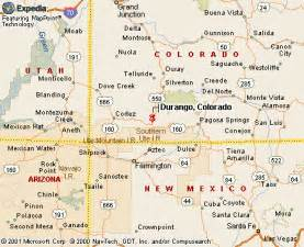 map of colorado durango