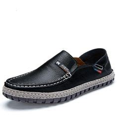 Navy Strom Sepatu Pria Sneakers Sport And Trendy 2 4inch 6cm slip on taller casual shoes lightweight loafers brown shoes