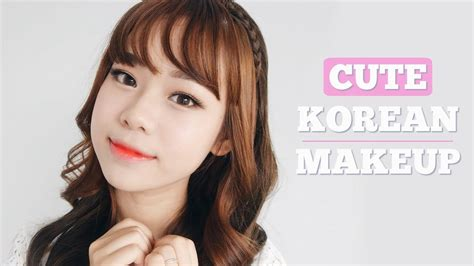 youtube tutorial makeup korea cute korean makeup tutorial eng sub molita lin youtube
