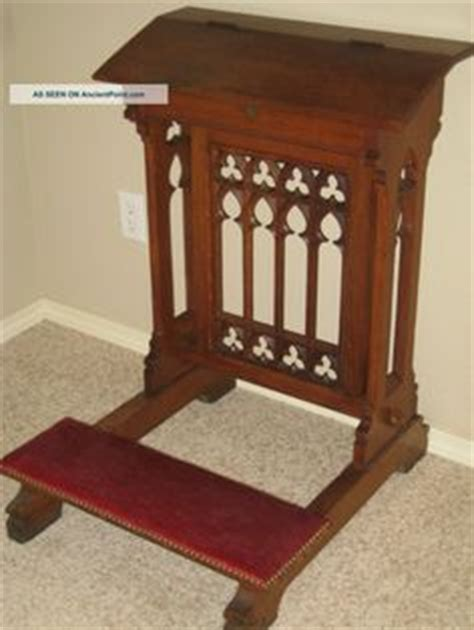 kneeling bench crossword antique oak ornate church kneeler prayer bench prayer
