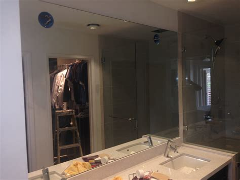 Frameless Vanity Mirrors by Custom Vanity Mirror And Frameless Enclosure Patriot