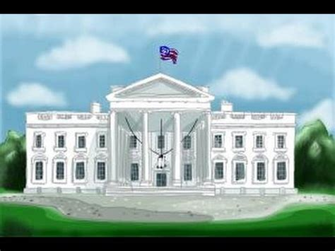 how to draw the white house how to draw the white house youtube