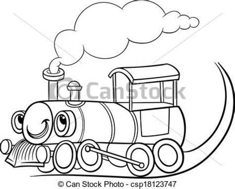 clipart treno clipart engine pencil and in color