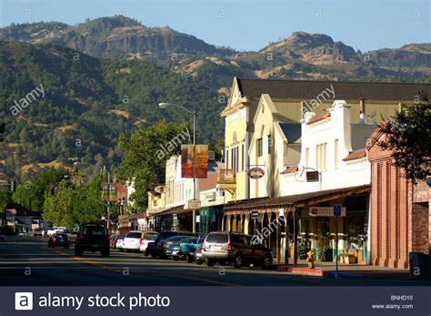 small villages in usa usa calistoga california downtown calistoga napa valley