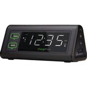 l with alarm clock chargetime usb charging alarm clock hd supply
