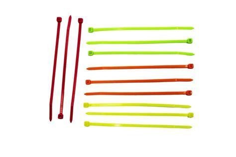 neon wire ties