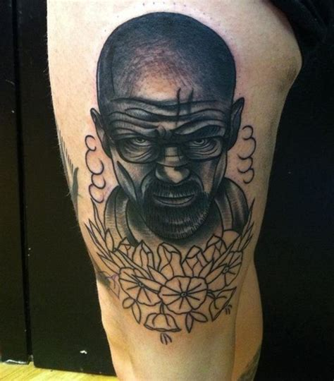 walter white tattoo awesome walter white tattoos 20 pics