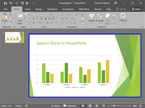 powerpoint widescreen tutorial change presentation aspect ratio from widescreen to