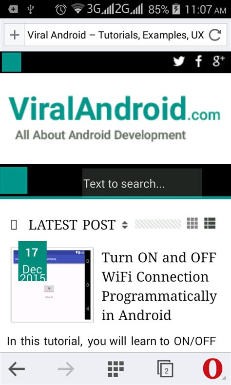 android pattern web url december 2015 viral android tutorials exles ux ui