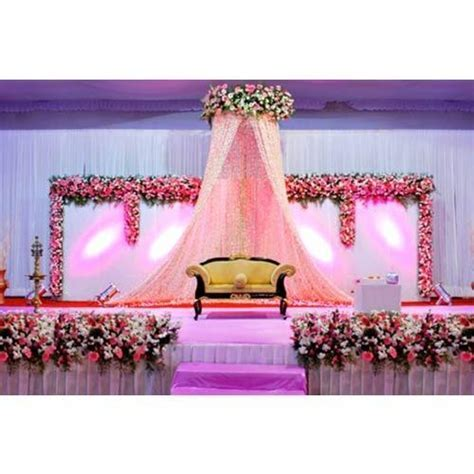 Flower Stage Decoration Service Provider from Chennai