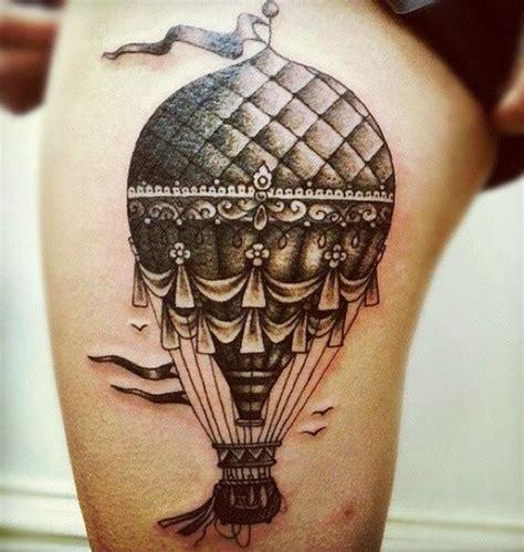 tattoo hot air balloon clay mccay hot air balloon tattoo design design of