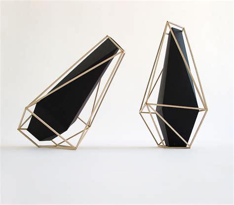 Geometric Vase by Union Suiza Geometric Vases By Martin Azua