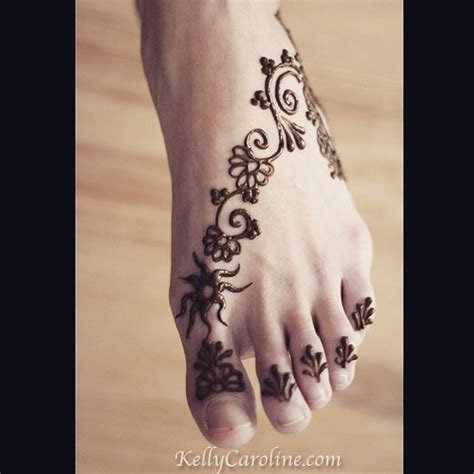 henna tattoo on ankle caroline archives caroline caroline