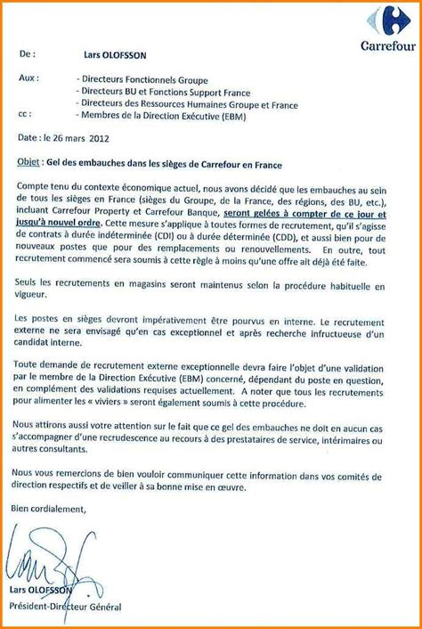 Exemple Lettre De Motivation Carrefour 10 Lettre De Motivation Carrefour Format Lettre