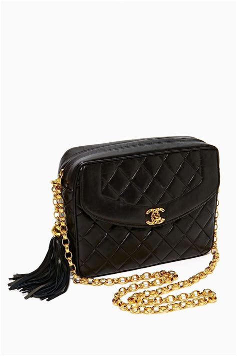 Quilted Chanel Handbag by Vintage Quilted Chanel Bag Want