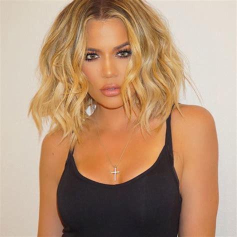 people magazine the biggest loser short blonde hair khloe kardashian s bob haircut see her bring back her