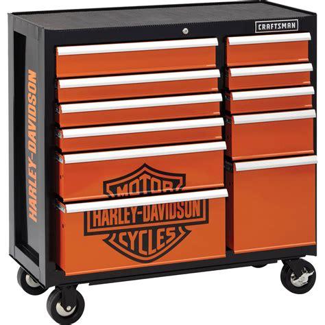 Harley Davidson Toolbox by Craftsman Harley Davidson 40 In 11 Drawer Rolling Cart