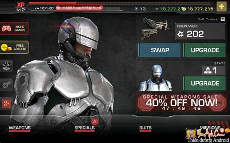 mod game robocop robocop mod tiền game cảnh s 225 t người m 225 y cho android