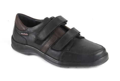 Sandal Merk Fladeo Uk 41 42 mephisto eymar klittenbandschoen zwart combinatie heren