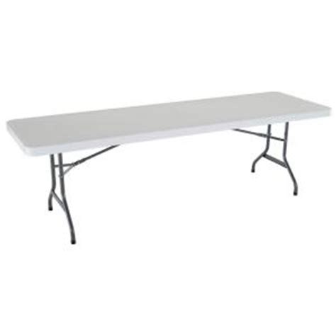 8 folding table home depot lifetime 8 ft commercial folding table 2980 at the home depot