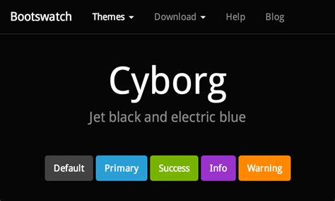 bootstrap themes background cyborg free bootstrap theme
