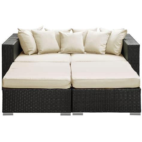 houston outdoor lounge bed modern furniture brickell