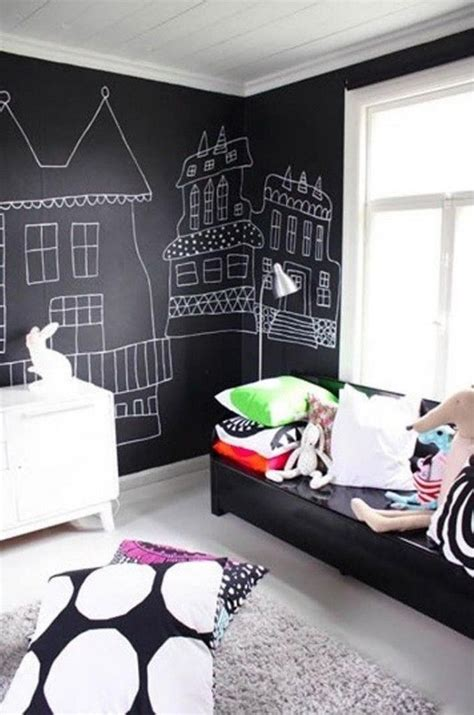 chalkboard paint in bedroom 30 fun chalkboard paint ideas for kids room