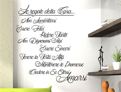 casa frasi sticker design vi presenta adesivo murale regole della casa