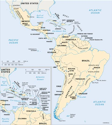south america map directions america map toursmaps