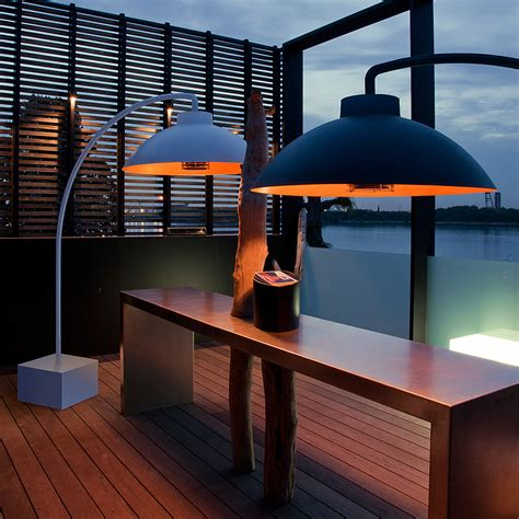 modern patio heater dome bow modern electric patio heater residential