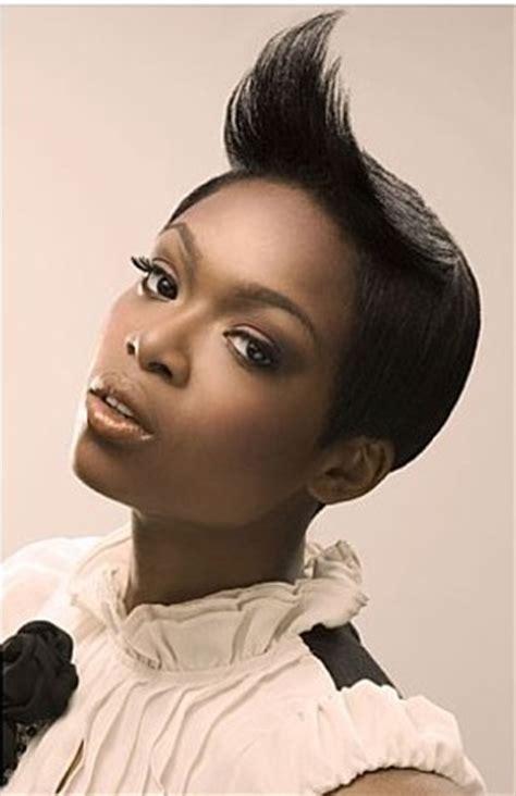short flip hair style for black women flipped bangs short black women haircut thirstyroots com