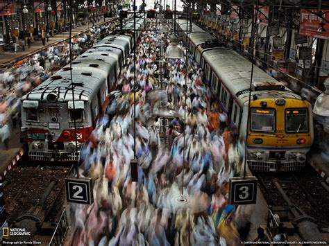 Railway Station Picture -- Mumbai Photo -- National ...