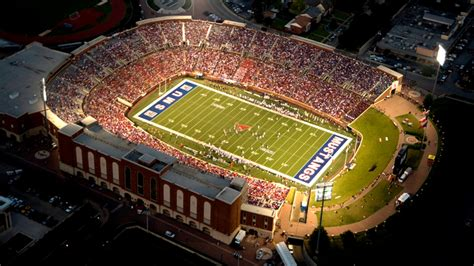 Gerald J Ford Stadium by Smumustangs Official Athletic Site