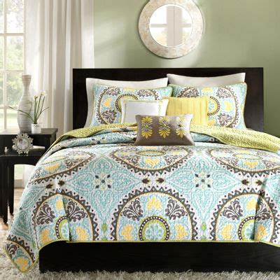 madison park bali 6 piece coverlet set madison park bali 6 pc medallion coverlet set