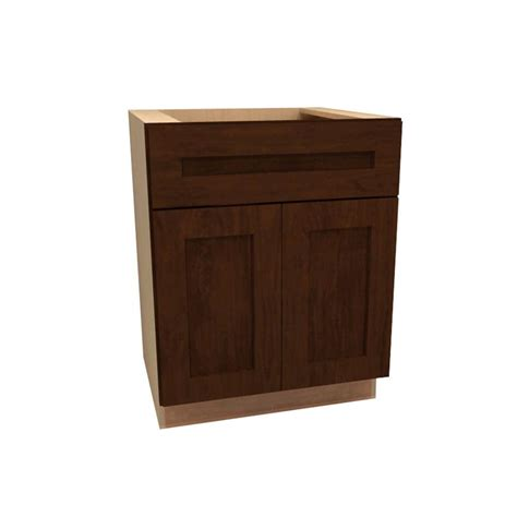Cabinet For Kitchen Sink Assembled 60x34 5x24 In Sink Base Kitchen Cabinet In Unfinished Oak Sb60ohd The Home Depot