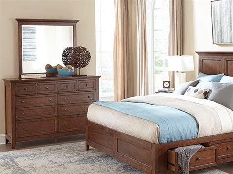 san mateo bedroom furniture san mateo bedroom collection dresser and mirror bailey s