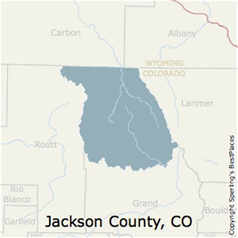 jackson county colorado map best places to live in jackson county colorado