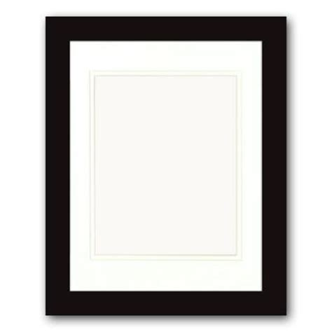 10 X 20 Matted Frame by Ptm Images 1 Opening 8 In X 10 In Matted Black Portrait