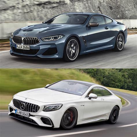 Bmw M Vs Mercedes Amg by Photo Comparison Bmw M850i Vs Mercedes Amg S63 Coupe