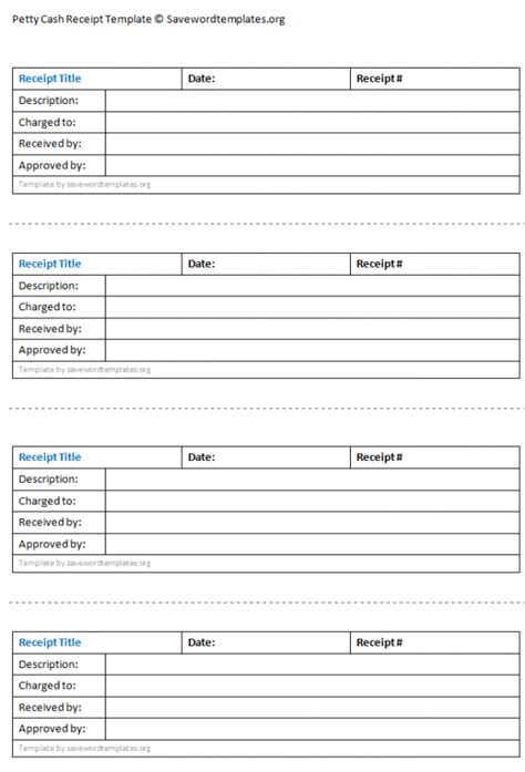 cash receipt template sles and templates