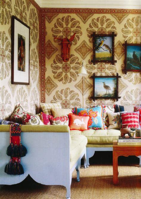 peter dunham wallpaper mme style
