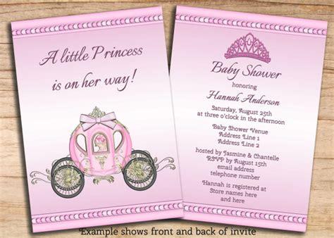 princess baby shower invitation templates free princess baby shower invitation templates free