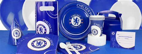 party themes on made in chelsea chelsea football club partyware party delights