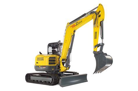 Alat Berat Excavator wacker neuson excavators 75z3 alat berat